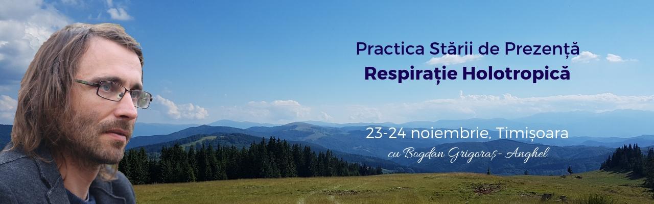 Practica Stării de Prezență & Respirație Holotropică