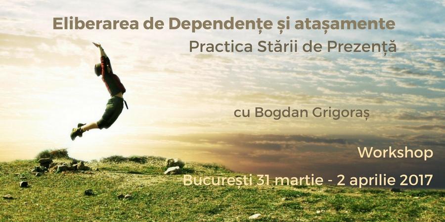 Practica Stării de Prezență<br>Eliberarea de Dependențe și Atașamente