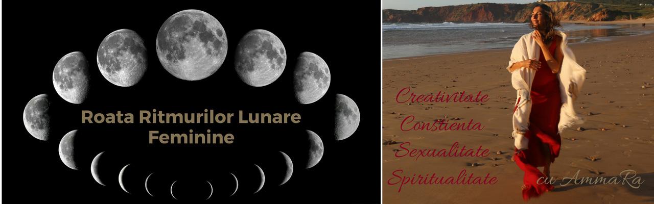 Roata Ritmurilor Lunare Feminine <br> Creativitate, Sexualitate, Conștiență, Spiritualitate