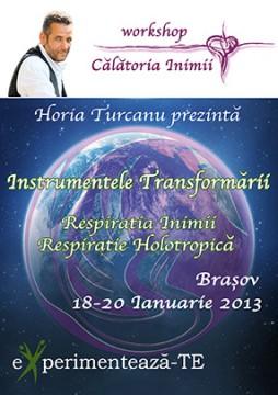Respiratia Inimii si Respiratie Holotropica - workshop eXperiment